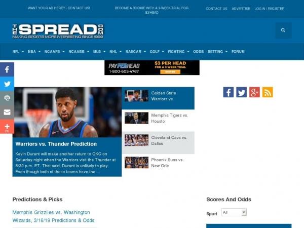 thespread.com