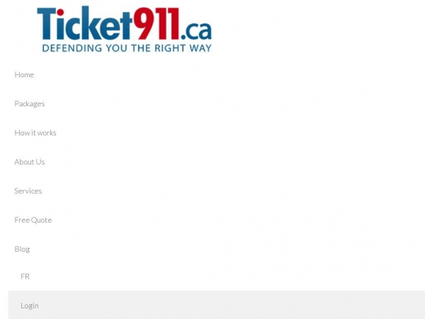 ticket911.ca